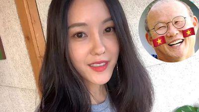 Hyomin xin lỗi fan Malaysia vì lỡ phải lòng đội tuyển bóng đá Việt Nam