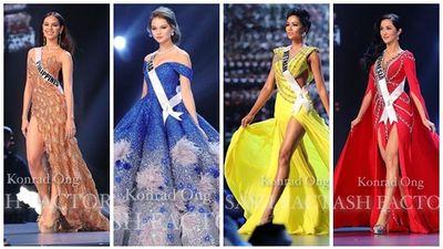 Top 10 trang phục dạ hội đẹp xuất sắc nhất đêm bán kết Miss Universe 2018