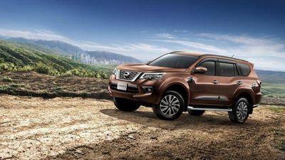 Nissan Terra sắp được ra mắt có giá dự kiến từ 966 triệu đồng