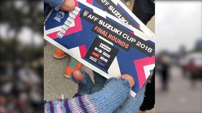 Căng thẳng nguồn cung, giá vé chung kết lượt về AFF Cup cao chưa từng có