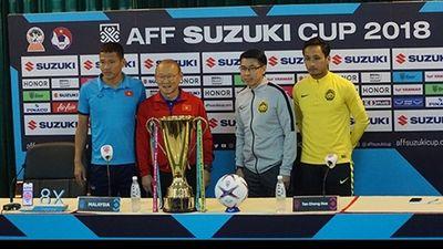 HLV Việt Nam và Malaysia phát biểu về trận chung kết lượt về AFF Suzuki Cup 2018