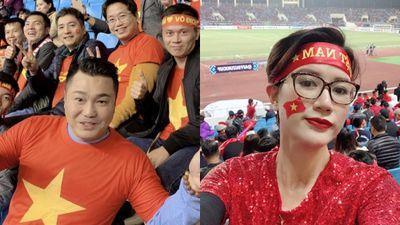 Nghệ sĩ Sài Gòn ra Hà Nội cổ vũ tuyển Việt Nam ở chung kết AFF Cup