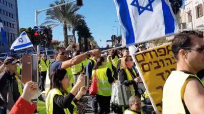 Nóng: Hiệu ứng 'Áo Vàng' đã lan tới tận Israel