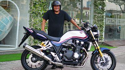 Cận cảnh Honda CB1300 mới giá gần 500 triệu tại Sài Gòn