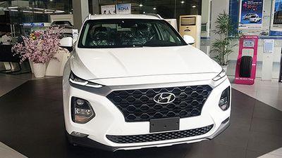 Hyundai SantaFe 2019 'chốt giá' hơn 1 tỷ đồng tại Việt Nam