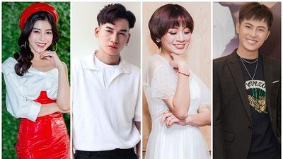 Ali Hoàng Dương, Ngọc Ánh, Gia Nghi, Gin Tuấn Kiệt cùng dàn sao Việt 'quyết thắng' cùng đội tuyển Việt Nam
