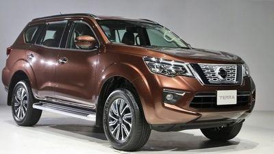 Nissan Terra sắp được bán ra tại Việt Nam với giá bao nhiêu?