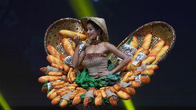 TT Trump nổi đóa, H'Hen Niê mặc bộ 'bánh mì' vào top ảnh tuần
