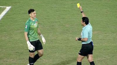 Trọng tài đã rút bao nhiêu thẻ trong trận chung kết lượt về AFF Cup?