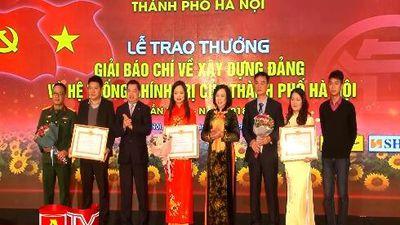 Báo ANTĐ đoạt nhiều giải báo chí về xây dựng Đảng, phát triển văn hóa