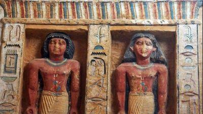 Phát hiện ngôi mộ 4.400 năm tuổi của thầy tế ở Ai Cập
