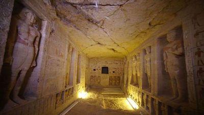 Phát hiện mộ cổ 4400 năm tuổi có một không hai ở Ai Cập