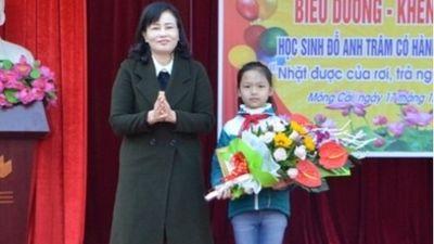 Quảng Ninh: Học sinh lớp 4 trả lại 30 triệu đồng cho người đánh rơi