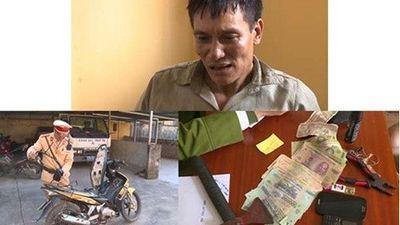 Trộm chó ở Hải Phòng, 'cẩu tặc' chạy trốn sang Thái Bình bị CSGT bắt giữ