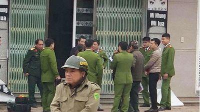 Lạng Sơn: Phát hiện một quả lựu đạn gài trước cửa hiệu làm tóc