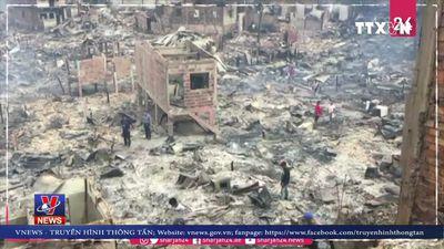 Brazil ban bố tình trạng thảm họa sau hỏa hoạn