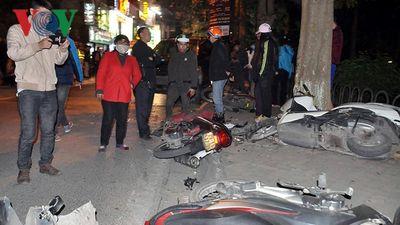 Vụ 'xế hộp' Lexus đâm liên hoàn tại Hà Nội: Tài xế vi phạm nồng độ cồn