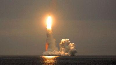 Tàu ngầm nguyên tử thuộc Hạm đội Biển Bắc lại thử tên lửa ICBM Bulava