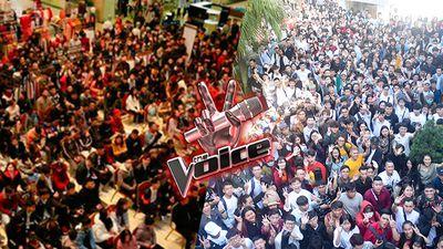 Nói không phải khoe: Đến mùa 6 rồi, 'đặc sản' Giọng hát Việt vẫn là… biển người tại vòng casting!