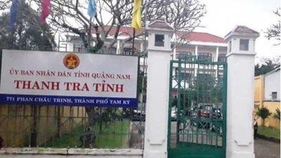 Thông tin chính thức vụ Phó chánh Thanh tra tỉnh Quảng Nam tử vong sau trụ sở