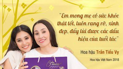 Trở về từ Miss world, Hoa hậu Tiểu Vy háo hức đi chọn quà Tết tặng mẹ
