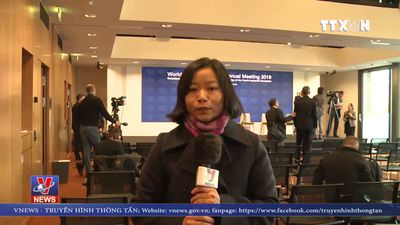 Davos 2019 nhấn mạnh chủ đề con người trong toàn cầu hóa