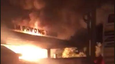 Cháy cây xăng ở Xuân Lộc: Hai nhân viên cây xăng bị bỏng nặng, nguy kịch
