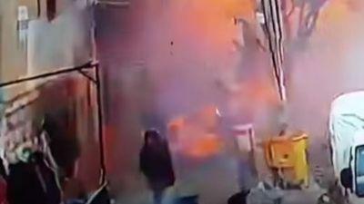 Kinh hoàng cảnh đánh bom liều chết ở Syria gây nhiều thương vong