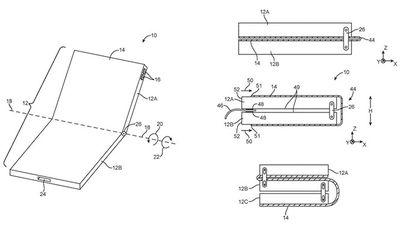 Điện thoại màn hình gập Apple dùng thiết kế khác Samsung
