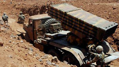 Pháo binh, tên lửa Syria lại giày xéo 'quân thánh chiến' ở bắc Hama