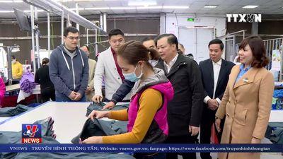 Bộ trưởng Bộ Tài chính thăm, chúc Tết tại Ninh Bình
