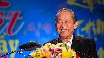 Phó Thủ tướng Trương Hòa Bình chúc công nhân Hải Dương có Tết đầm ấm
