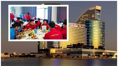 Đối đầu Jordan, tuyển Việt Nam nghỉ tại khách sạn siêu sang