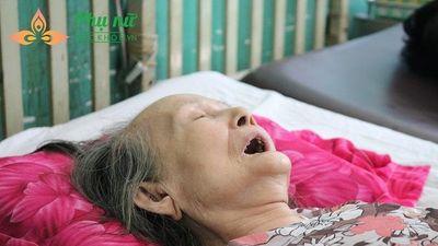 Thương cảnh cụ bà 80 tuổi phải cắt bỏ chân vì biến chứng tiểu đường, không tiền chạy chữa