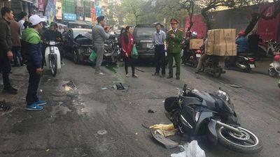 Danh tính tài xế xe Ford Escape 'càn quét' vỉa hè phố Ngọc Khánh, khiến cụ bà tử vong
