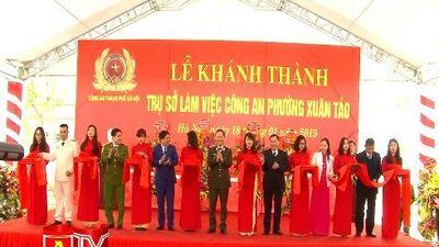Khánh thành trụ sở làm việc Công an phường Xuân Tảo