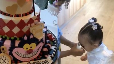 Kim Kardashian tổ chức sinh nhật cổ tích cho con gái