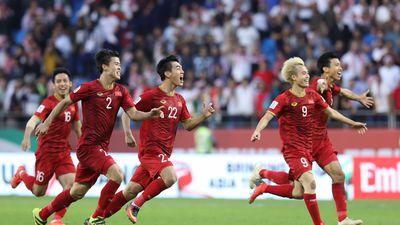 'Tuyển Việt Nam tạo ra lịch sử khi lọt vào tứ kết Asian Cup'