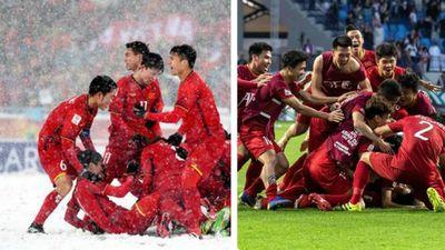 Clip: Xem chiến thắng trong nắng UAE nhớ về Thường Châu tuyết trắng