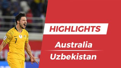 Highlights Asian Cup 2019: Australia 0-0 Uzbekistan (pen, 4-2)