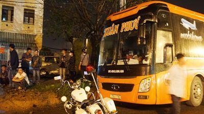 Chặn xe khách chở quá số người quy định ở Đà Nẵng