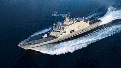 Đầu năm Hải quân Mỹ đã 'xông đất' bằng tàu chiến triệu USD