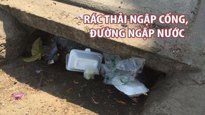 Bí thư Nguyễn Thiện Nhân vận động người dân không xả rác để chống ngập