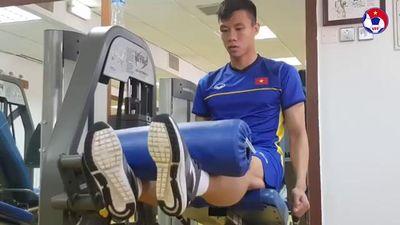 Cận cảnh phòng tập luyện của ĐT Việt Nam ở Dubai chuẩn bị cho trận tứ kết Asian Cup 2019