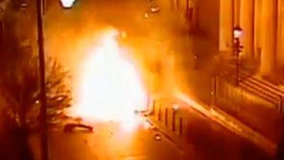Bắc Ireland tiếp tục bị đe dọa an ninh sau vụ đánh bom xe