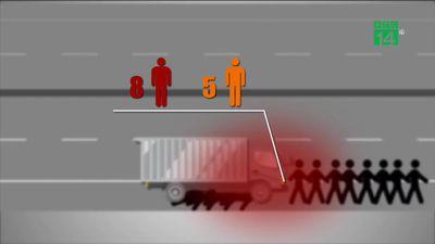 Video mô phỏng tai nạn thảm khốc, 8 người chết ở Hải Dương