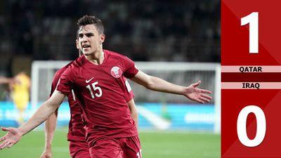 Iraq 0 - 1 Qatar: Iraq ngậm ngùi tiễn Qatar vào vòng tứ kết Asian Cup 2019