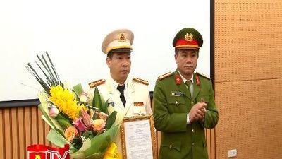 Bổ nhiệm Phó Thủ trưởng Cơ quan Cảnh sát điều tra - Công an Hà Nội