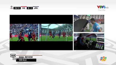 Công nghệ VAR không công nhận bàn thắng của đội tuyển Nhật Bản