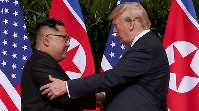 Ông Kim vui mừng trước bức thư nồng hậu của TT Trump